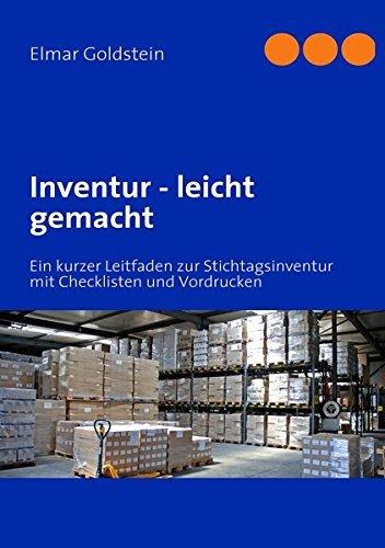 Fachbuch: Inventur leicht gemacht, FVSR Fachverlag für Steuern und Recht
